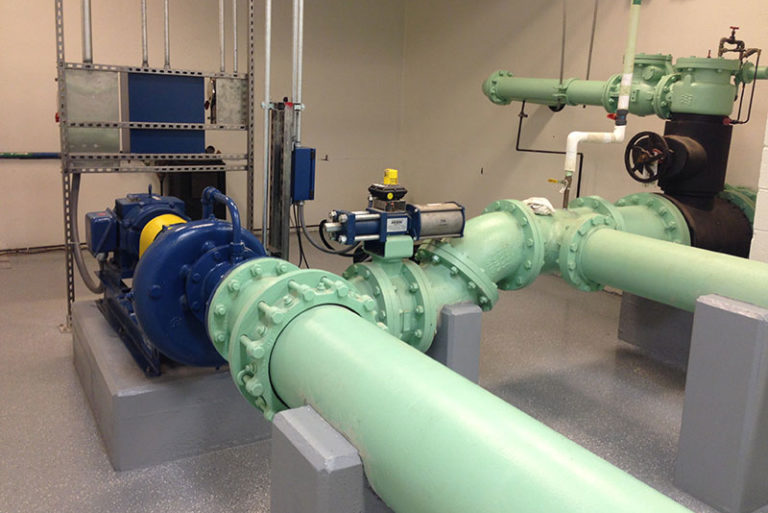 Conduit Energy Recovery Package in Granville Pipeline replacement