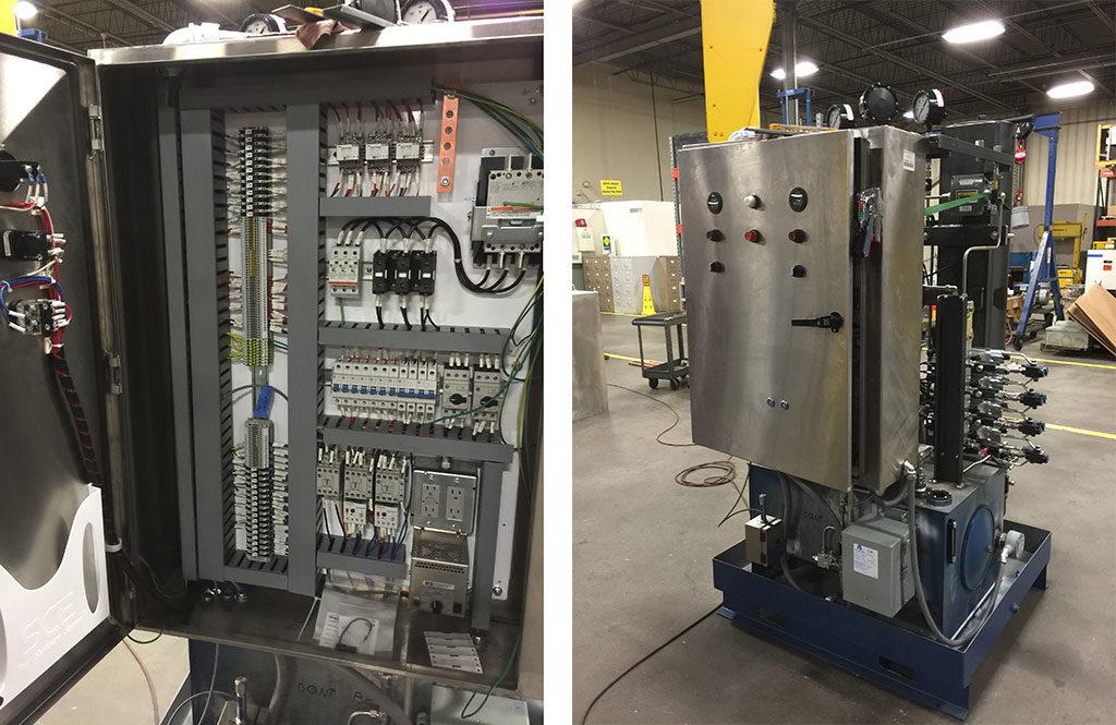 Hydraulic power unit at Barkhamsted